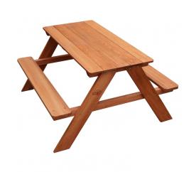 Axi Stół ławeczka piknikowa dla dzieci DAVE