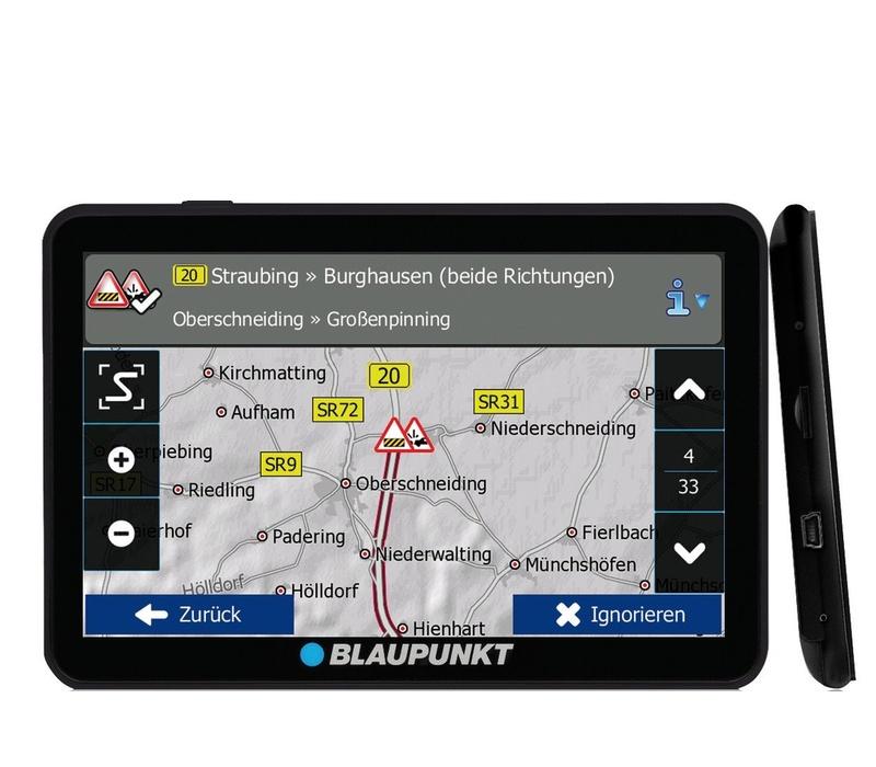 Blaupunkt GPS navigácia TravelPilot 74 Camping EU LMU