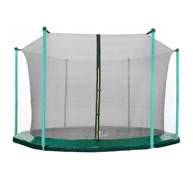 AGA 430 cm (14 ft) 6 rudas trambulin belső védőháló