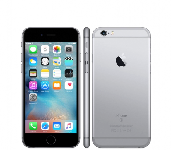 Apple iPhone 6S 64GB Space Grey Kategorie: B