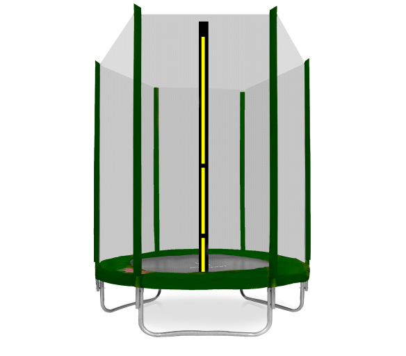 Aga SPORT TOP Trambulin 150 cm Dark Green + védőháló