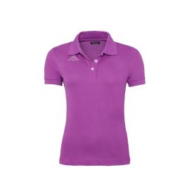 Kappa Koszulka Polo LIFE Violet Grey