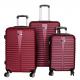 Aga Travel Zestaw walizek MC3079 S,M,L Burgundy