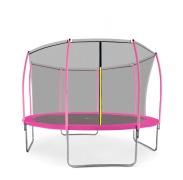 Aga SPORT FIT Trambulin 366 cm Pink + belső védőháló