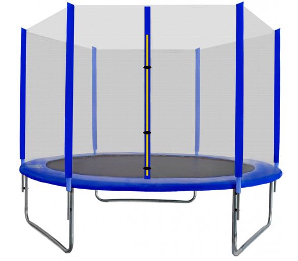 Aga SPORT TOP Trampolína 250 cm Blue + ochranná síť