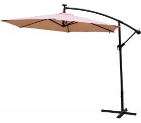 AGA EXCLUSIV LED 300 cm Beige függő napernyő