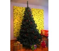 Umelý vianočný stromček - Borovica bielozelenej 160 cm