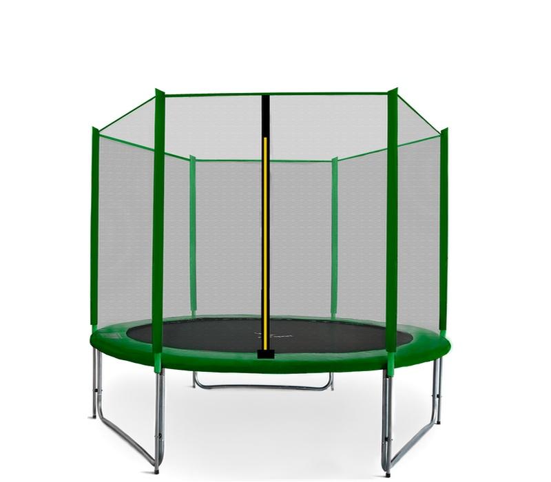 Aga SPORT PRO Trampolína 250 cm Dark Green + ochranná síť