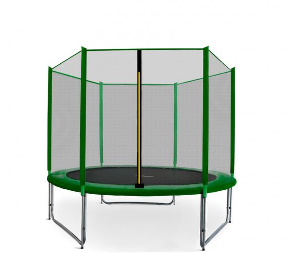 Aga SPORT PRO Trampolína 250 cm Dark Green + ochranná sieť
