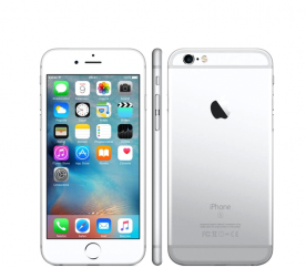Apple iPhone 6S 16GB Silver Kategorie: C