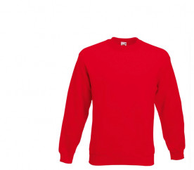 Fruit Of The Loom SET-IN SWEAT Red