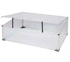 Linder Exclusiv Szklarnia skrzynia ogrodowa MC4361 100x60x30/40 cm