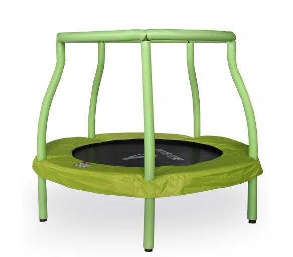Aga Detská trampolína 116 cm Light Green