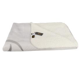 Versace 19.69 takaró FLEECE 200x150 cm C42 Light Grey