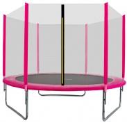 Aga SPORT TOP Trambulin 305 cm Pink + védőháló