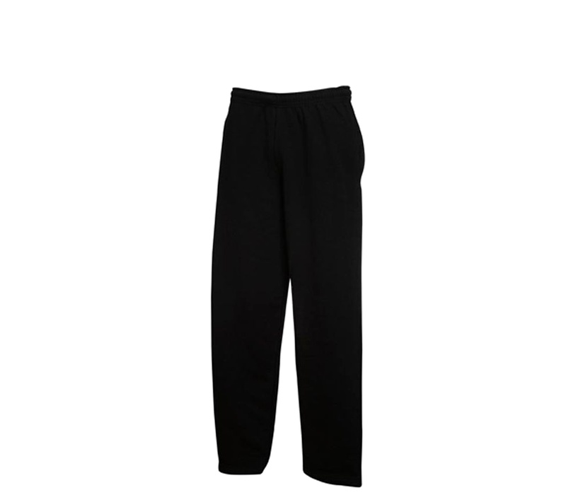 Fruit Of The Loom OPEN HEM JOG PANTS Black