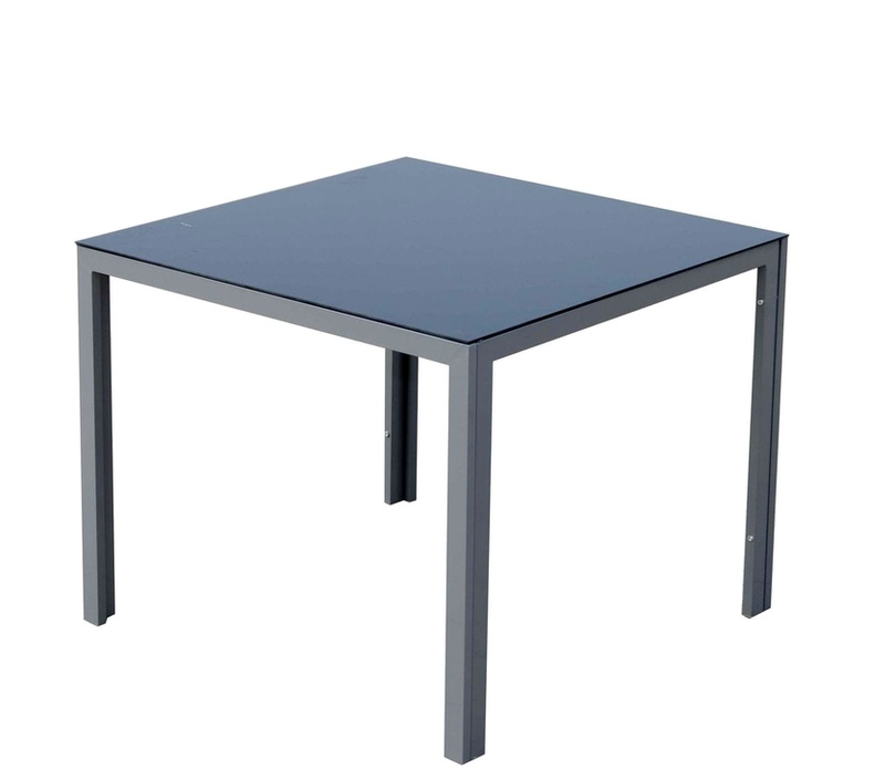 Linder Exclusiv Zahradní stůl KORFU MC330861 90x90x72 cm