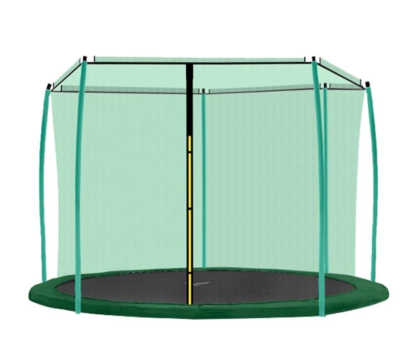 Aga Vnútorná ochranná sieť 430 cm na 6 tyčí Green