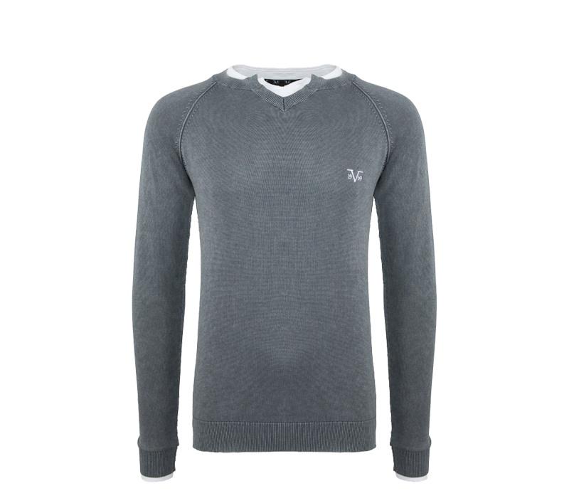 Versace 19.69 Pánský svetr C101 Grey