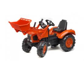 Traktor šlapací Kubota s přední lžící