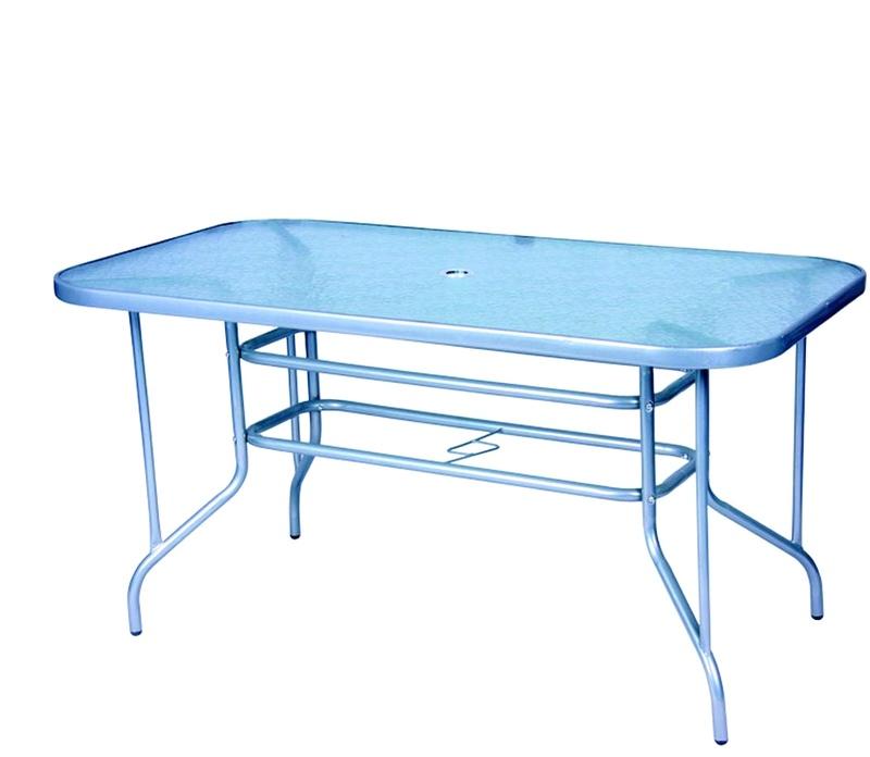 Linder Exclusiv Zahradní stůl MILANO MC331166 140x80 cm
