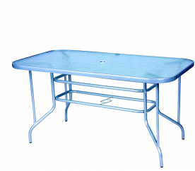 Linder Exclusiv MILANO MC331166 140x80 cm kerti asztal