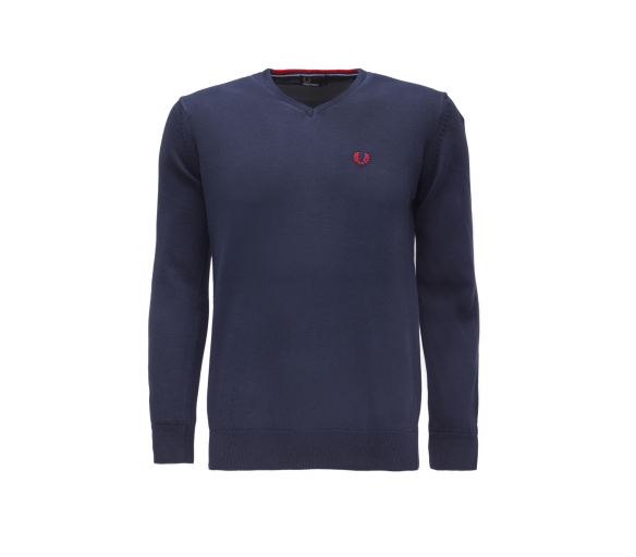 Fred Perry Svetr Navy