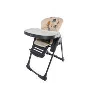 Clamaro Jídelní židlička Dark Grey