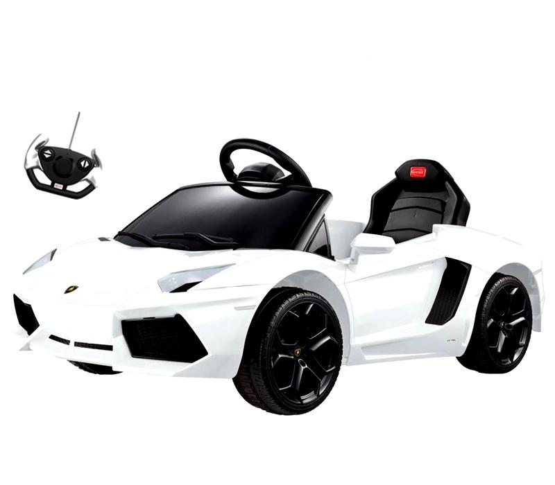RCT Elektrické autíčko LAMBORGHINI AVENTADOR 81700B 6V White