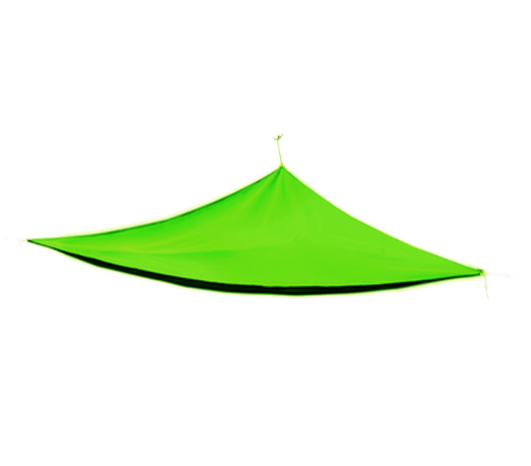 Aga Stínící plachta 5x5x5 m Apple Green