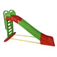 Aga4Kids Skluzavka s madlem 243 cm Zeleno-červená