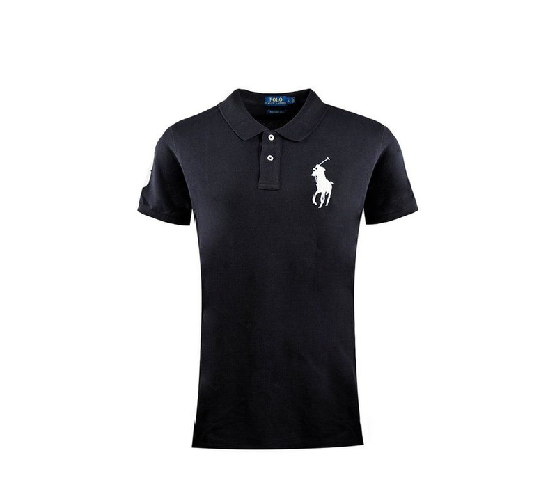 Ralph Lauren SKINNY-FIT Big Pony Black