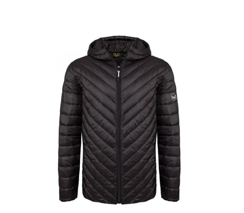 Versace 19.69 Pánská bunda s kapucí C45 Black