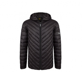 Versace 19.69 Kapucnis férfi kabát C45 Black
