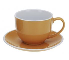 Hrnek na cappuccino 220 ml, oranžový- poslední kus - EXCELLENT