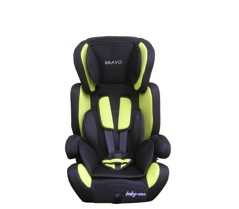 Baby Coo autosedačka BRAVO 2018 Black Green