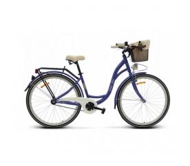 "Goetze BUTTERFLY női kerékpár 26"" lila"