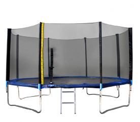 Linder Exclusiv Trampolína XXL 460 cm + ochranná síť + žebřík + krycí plachta