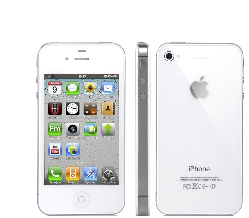 Apple iPhone 4S 16GB White Kategorie: A