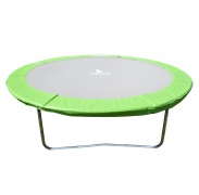 AGA 400 cm (13 ft) trambulinra rugótakaró Light Green