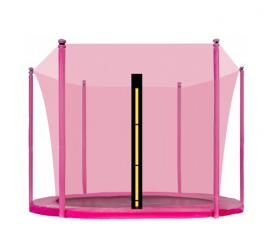 Aga Vnitřní ochranná síť 250 cm na 6 tyčí Pink