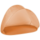 Linder Exclusiv Samorozkládací plážový stan Orange