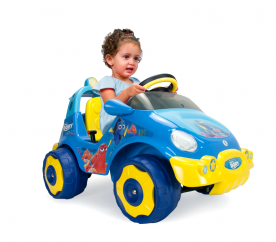 Injusa elektromos kisautó RACING CAR DORY 6V