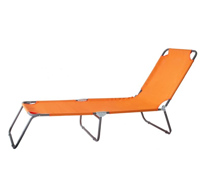 AGA Záhradné lehátko KLASIK 164C Orange