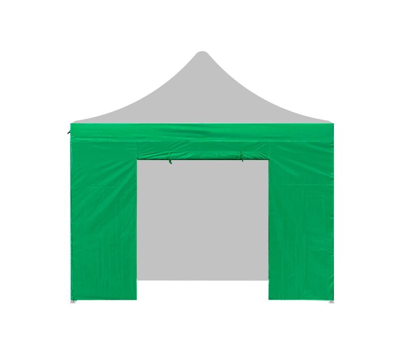 Aga Bočnice s dveřmi 3x3 m Green