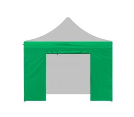 Aga oldalfal ajtóval  3x3 m Green