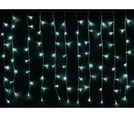 Linder Exclusiv Vianočný svetelný dážď 160 LED Studená biela