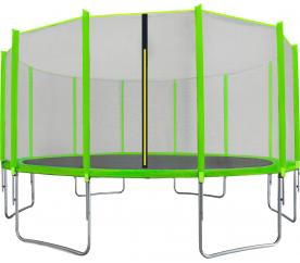 Aga SPORT TOP Trampolína 500 cm Light Green + ochranná sieť