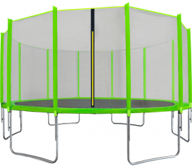 Aga SPORT TOP Trampolína 500 cm Light Green + ochranná síť