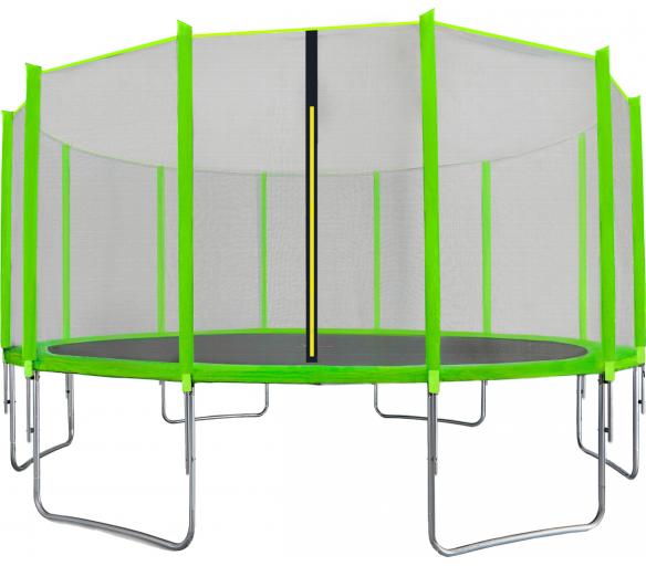 Aga SPORT TOP Trambulin 500 cm Light Green + védőháló
